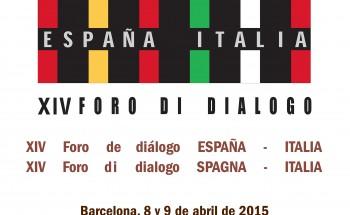 logo FORO ESPAÑA ITALIA 2015